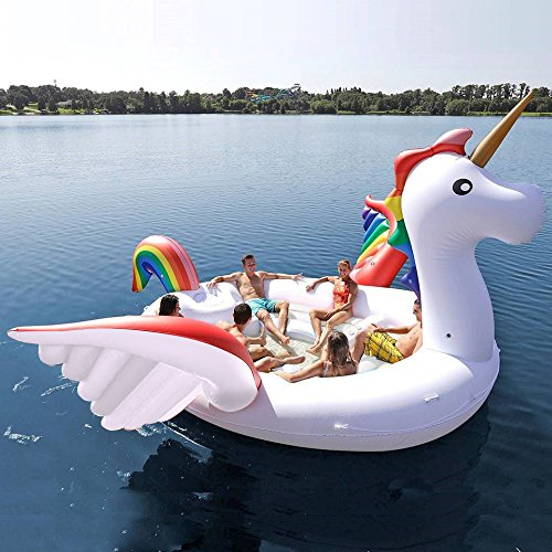 isola galleggiante unicorno